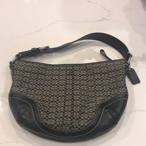 Coach medium signature handbag